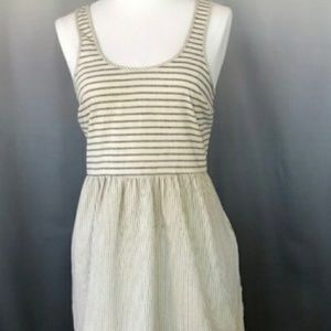 ANTHROPOLOGY STRIPED DRESS
